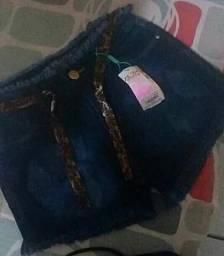 Short jeans Novo tamanho 40