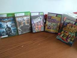 Promoção Relâmpago de jogos Xbox 360 Conjunto com 06 jogos por R$ 300,00 reais