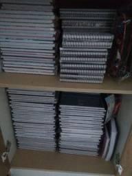 Cadernos e estojo