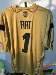 Camisa do Atlético MG - Galo - Rara - Goleiro Centenário Dourada