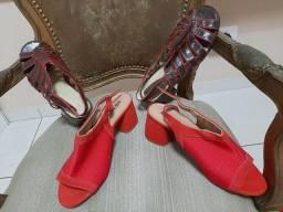Calçados linha Confort, n 39-40, Usaflex, Santa Lolla, Beneditta, Picadilly, Ramarim