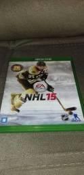 Jogo xbox one NHL 15