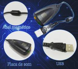 Placa de som USB!!