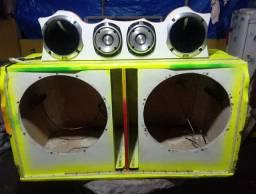 Caixa de som (so o projeto) castanhal