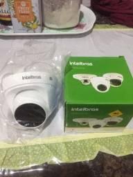 Câmera intelbras ip dome , vip 3220 d com infra vermelho