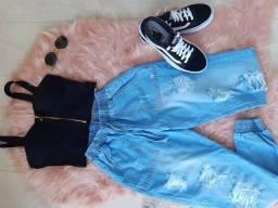 Calça jeans / cropped
