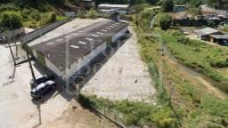 Terreno com 4.300,00 m² e galpão para aluguel no Córrego Dantas