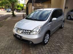 Nissan Livina SL 1.6 Flex 2010 Completa!! C/ Banco de Couro!!
