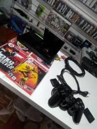 PlayStation 2 slim desbloqueado Entrego gratuita parcela até 12x
