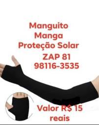 Manguito Manga UV Proteção Solar De Braço