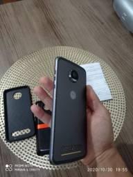 Celular Motorola moto z2 com caixa JBL