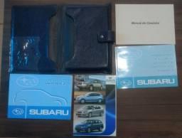 Manual do Proprietário Subaru ano 2010/2011