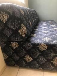 Sofá cama estofamento novo