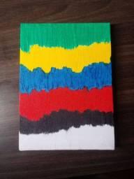 Vendo quadro artístico Artesanal