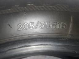 Vende-se 4 pneus da MARCA BRIOGESTONE TURANZA