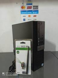Desktop TOP DELL OptiPlex 5040 SFF - I7 6700+8gb Ram+HD 500GB+Wifi+Entrega