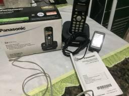 Telefone sem fio panasonic digital 6.0