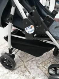 Bebê conforto e carrinho burigotto at6