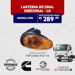 LANTERNA DO SINAL DIRECIONAL ORIGINAL FORD L-D