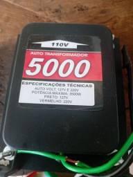Transformador 110v 220v Sem uso.