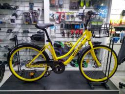 Bicicleta Aro 26 Yellow Promoçao