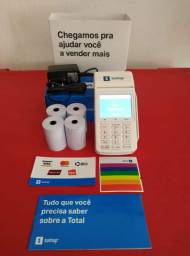 Maquineta SumUp Total imprime Comprovante