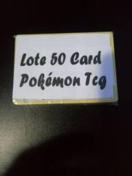 Lote 50 Cards Pokémon TCG aleatório (Sem Repetições) Ultimo Lote