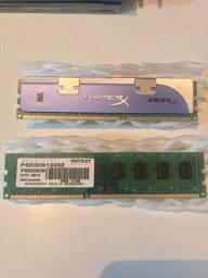 Memória RAM - 2GB DDR3