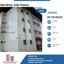 Título do anúncio: Apartamento para Venda em João Pessoa, Bancários, 2 dormitórios, 1 suíte, 1 banheiro, 1 va