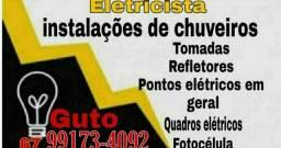 Eletricista (orçamento grátis)