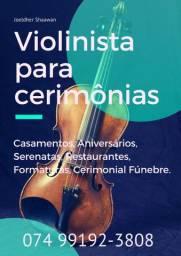 Violinista para seu Evento