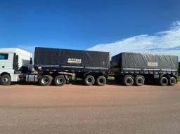 Título do anúncio: Man 440 6x4 com carreta Noma Curta 2001 2x2 Rodotrem curta com pneus.