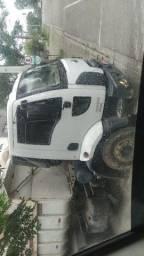 Cargo truck traçado 6x4