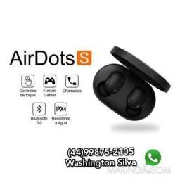 Fone de Ouvido Redmi Air Dots S Xiaomi (Sem Fio)