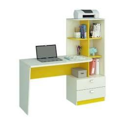 Título do anúncio: Promoção - Escrivaninha Mesa Computador com Estante - Apenas R$399,00
