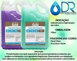 Sabonete Liquido Gold ? 5 litros