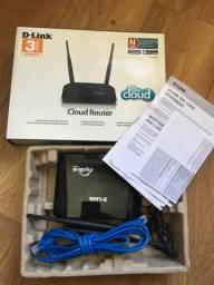 Troco Roteador / Wi Cloud - Wi-Fi  D-Link 300mbps