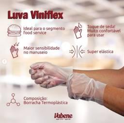 Luva Viniflex C/100 Unidades - Procedimentos estéticos e manipulação de alimentos