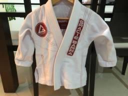 Título do anúncio: Kimono Jiu-Jitsu infantil seminovo.