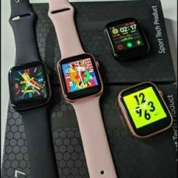 X7 Smartwatch  Atualizado / Poe foto na tela / Atende e Realiza ligações  44mm