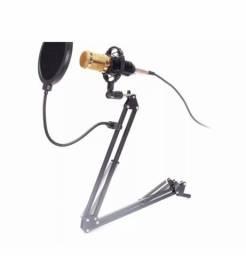 Kit microfone condensador profissional KPM0010
