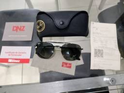 Óculos de Sol Ray-Ban 0RB3548NL-HEXAGONAL - Preto.