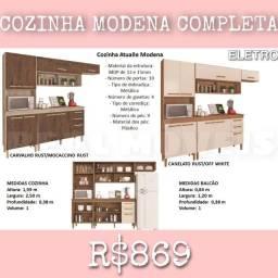 Armário de cozinha moderna