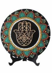 Título do anúncio: Mandala Mão de Fátima. 20cm