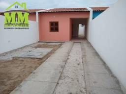 Casa com zero de entrada de 2 quartos e 2 banheiros