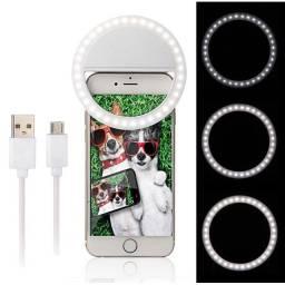Luz Portátil para Selfie - Ring Light