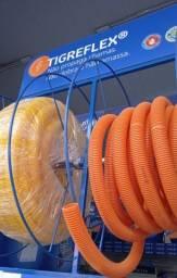 Eletroduto corrugado Tigre Anti chamas 20mm / 25mm / 32mm por Metro ou ROLO fechado