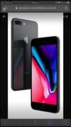 Vendo iphone 8 plus 64 g original 1 ano de uso!