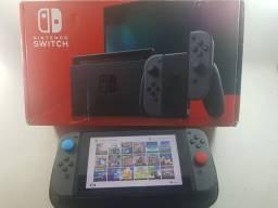Nintendo Switch V2 + 20 jogos originais