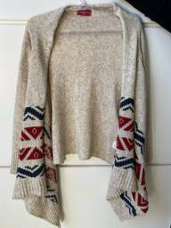 Título do anúncio: Cardigan tricot